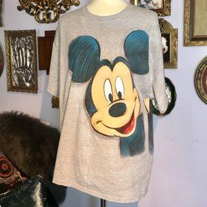 Mickey Mouse 1990's Walt Disney World VTG T  XL
